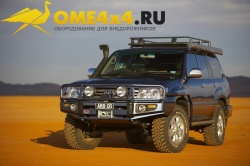 Пороги ARB с защитой крыла для Toyota Land Cruiser 100 с 10/2002 года.